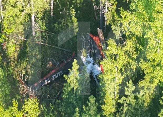 вертоліт Росія аварія