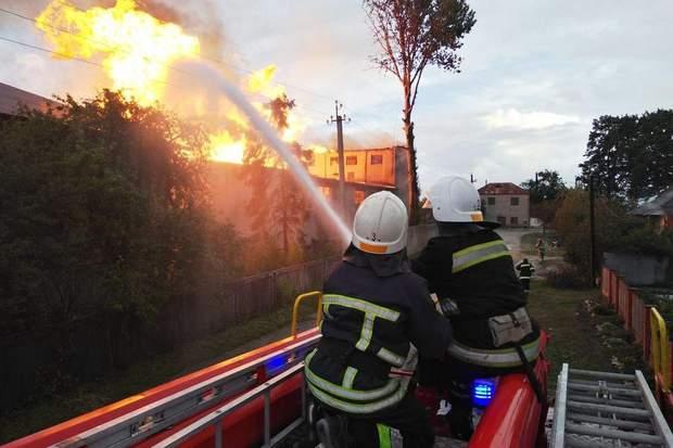 Взрыв, спиртзавод, Тернопольская область, Збараж, пожар