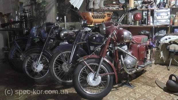Ретро-мотоцикли