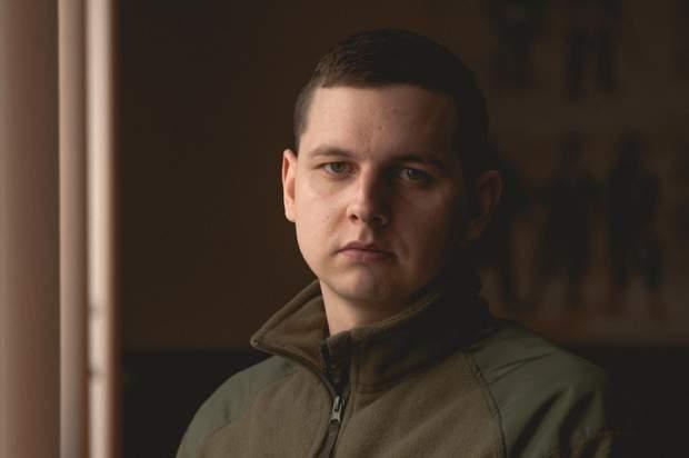 Молодший лейтенант Микола Анацький