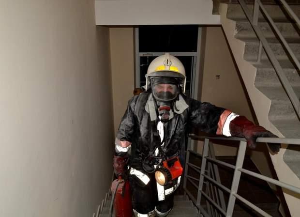 В Одесі сталася пожежа на шістнадцятиповерховому будинку