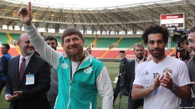 Салах, Кадиров, Чечня, Єгипет, скандал, Росія, ЧС2018