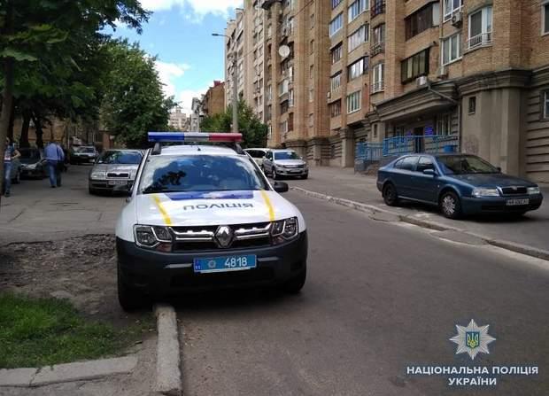 Поліція на місці викрадення
