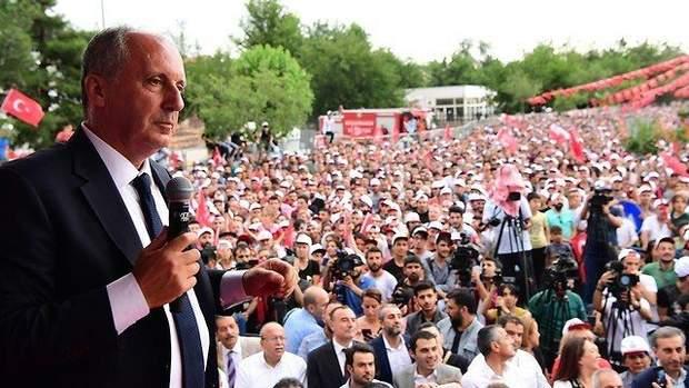 У суперника Ердогана опозиціонера Мухаррема Індже фактично не було шансів на перемогу