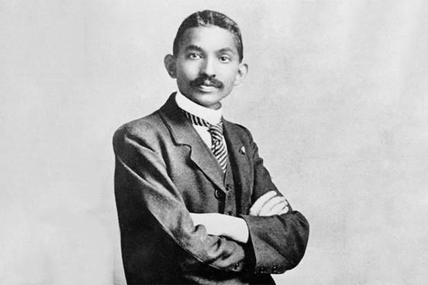 Махатма Ганді в юності