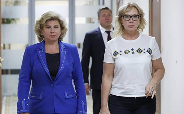 Москалькова Денісова заручники полонені політв'язні