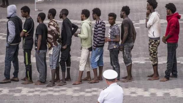 Італія є головним місцем для мігрантів, врятованих від перевантажених човнів з Лівії