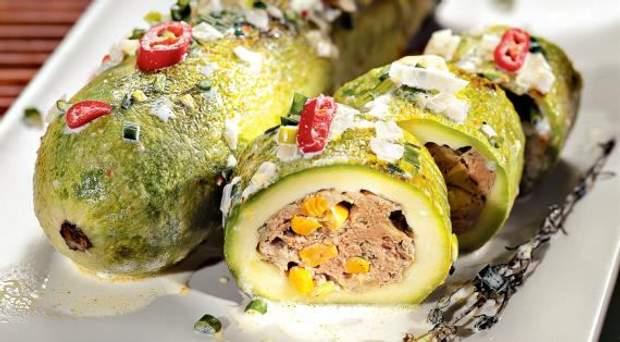 Вкусное блюдо из кабачков