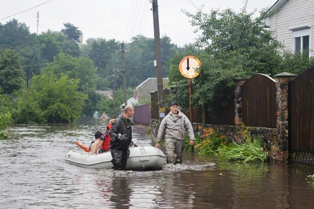 Негода в Чернігові