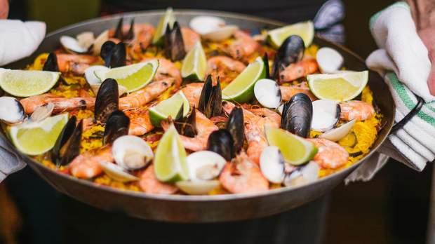 Цинк міститься у морепродуктах