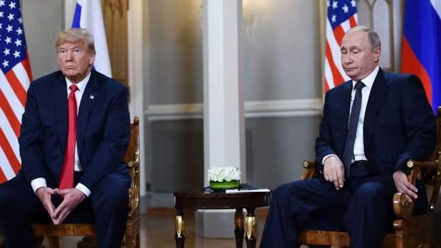 Дональд Трамп і Володимир Путін у Гельсінкі