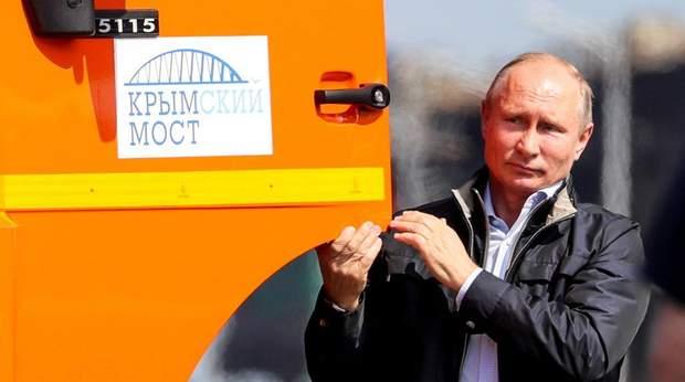 Крим, Кримський міст, Путін