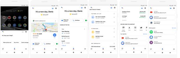 Google Assistant, карточки, Google, нововведения, додатки