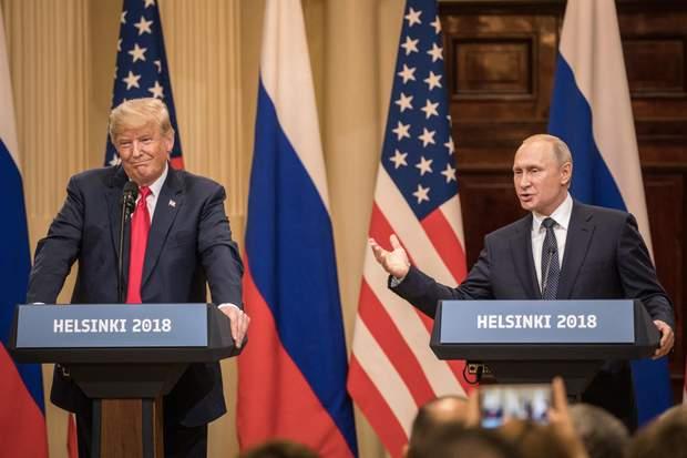 Встреча Дональда Трампа и Владимира Путина в Хельсинки