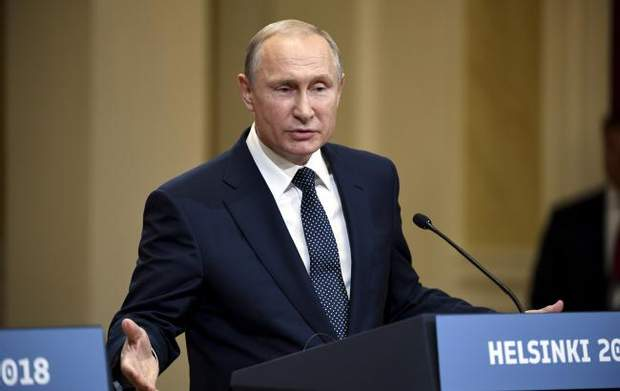 Президент Росии Владимир Путин