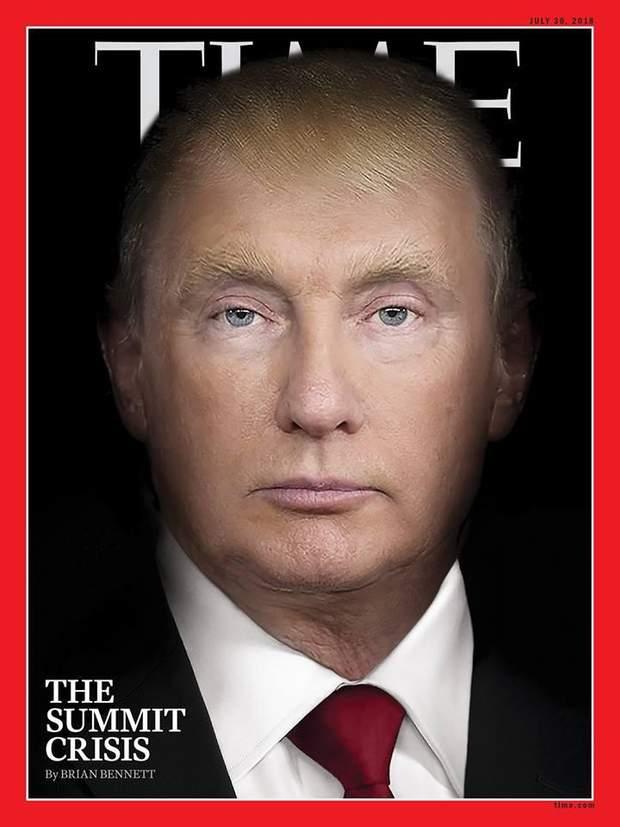 обкладинка time Путін Трамп