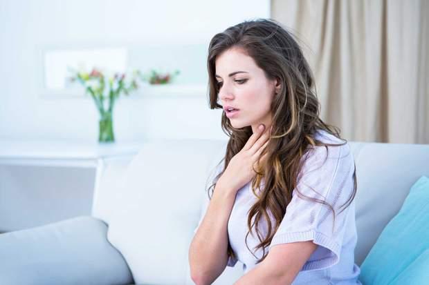 При анафілактичному шоку важко дихати
