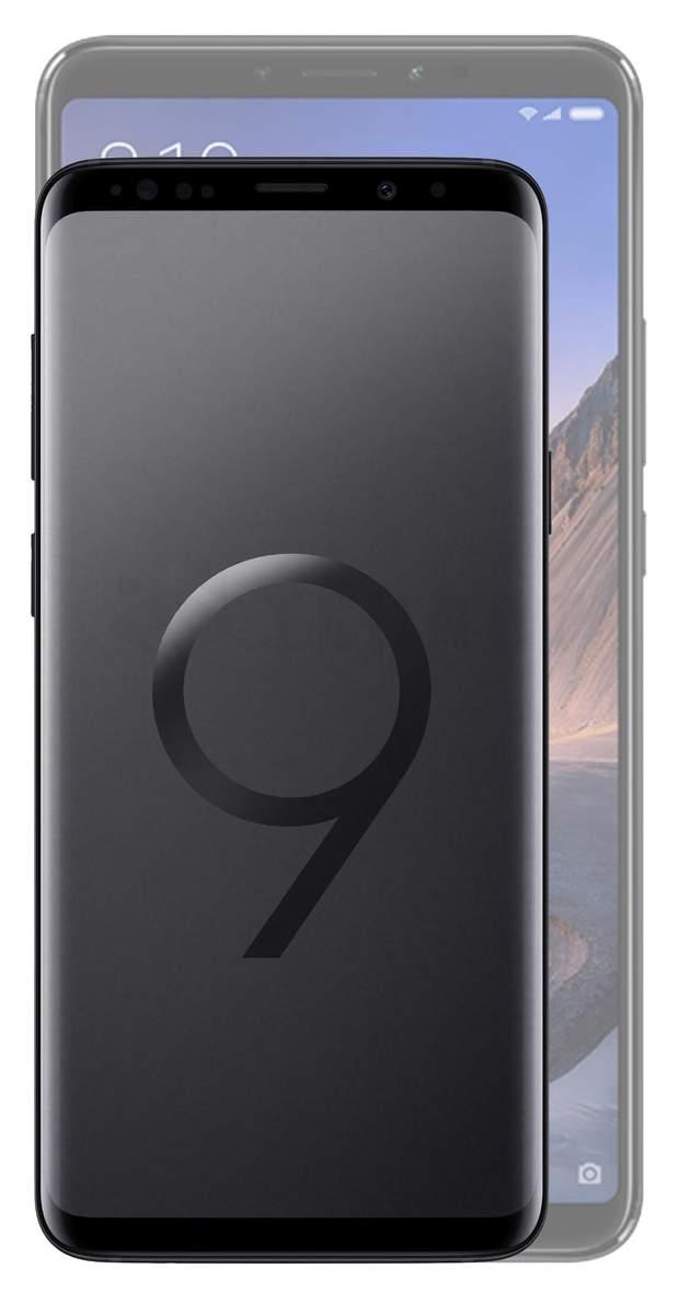 Xiaomi Mi Max 3  з Galaxy S9+