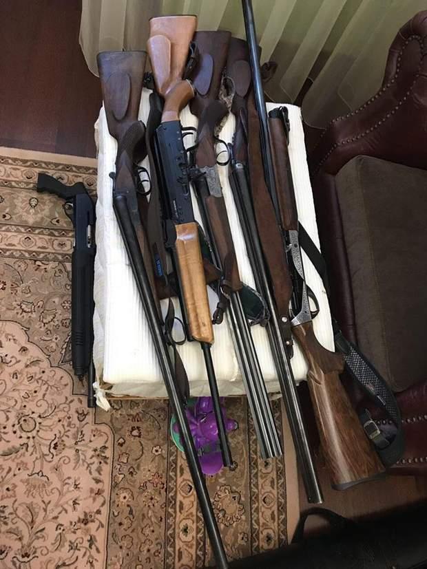 В квартирі затриманого організатора групи знайшли боєприпаси