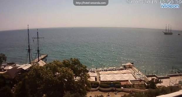 пляж туристи крим