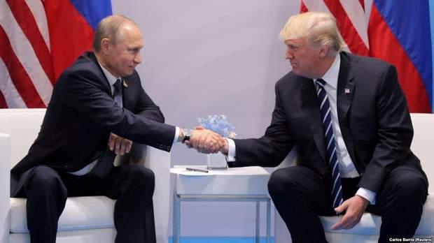 Зустріч Володимира Путіна і Дональда Трампа в Гельсінкі