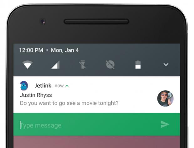 Google тестує функцію швидких повідомлень в Chrome для Android