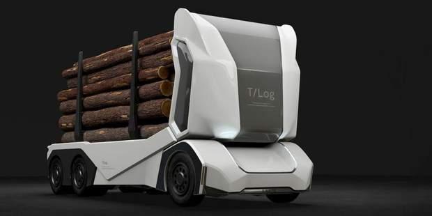 T-log – безпілотний лісовоз