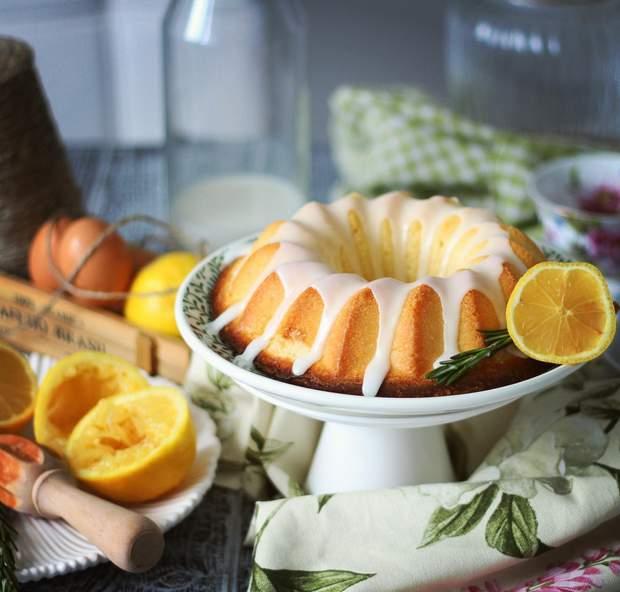 Рецепт приготування лимонного кексу