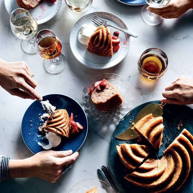 Рецепт приготування медового кексу