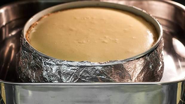 Рецепт приготування класичного чізкейку