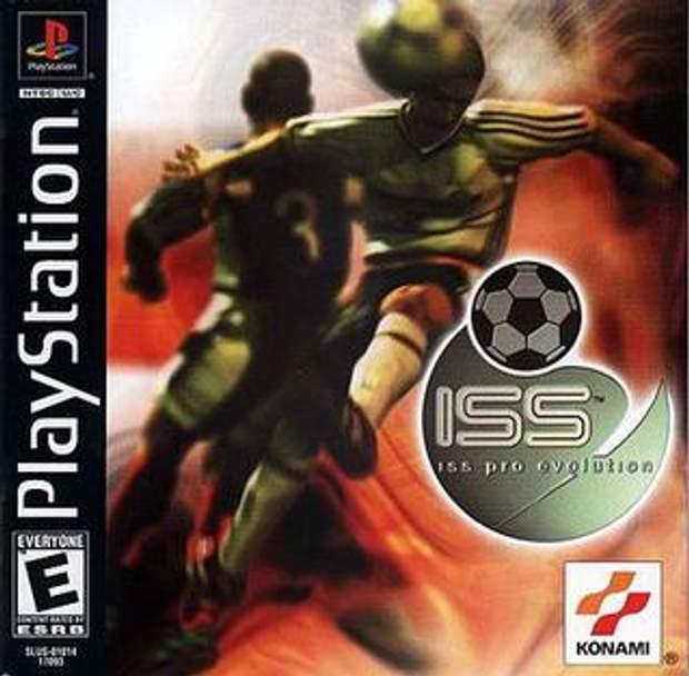 Обкладинка гри ISS Pro Evolution
