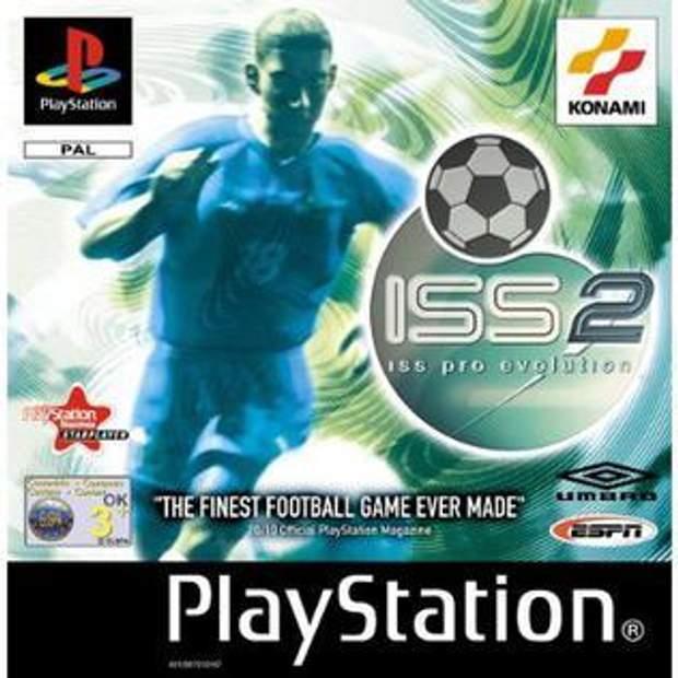 Обкладинка гри ISS Pro Evolution 2