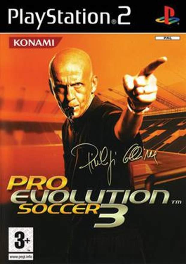 Обкладинка гри Pro Evolution Soccer 3