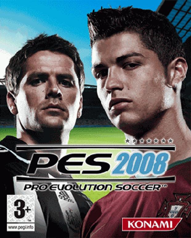Обкладинка гри Pro Evolution Soccer 2008