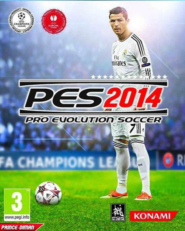 Обкладинка гри Pro Evolution Soccer 2014