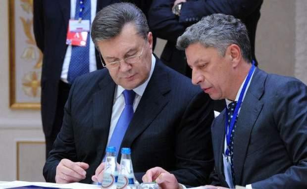 Бойко Янукович Партія регіонів