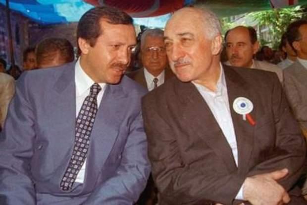 Ердоган, Гюлен
