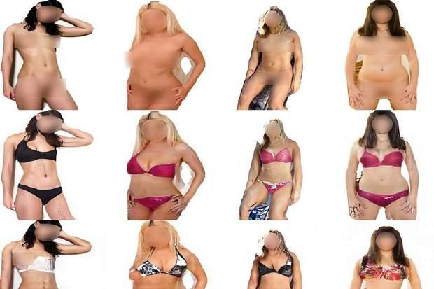 Штучний інтелект домальовує голим жінкам одяг