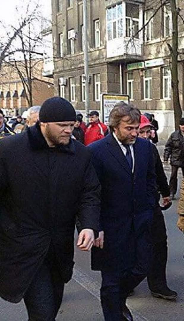 Новинський охорона ФСБ Росія РПЦ