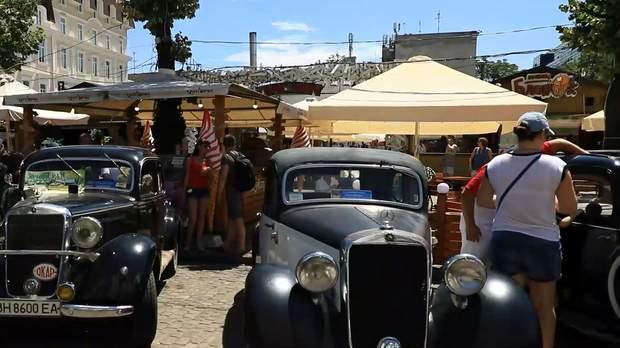 Фестиваль ретро-автомобілів в Одесі