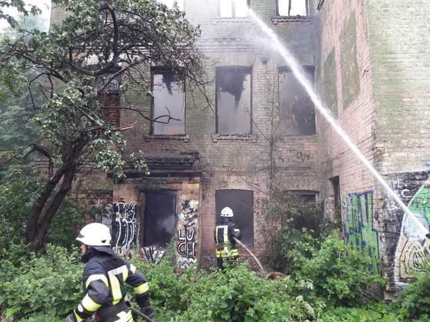 пожежа Київ історична будівля