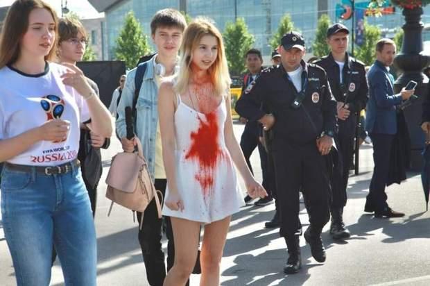 росія, протести, затримання