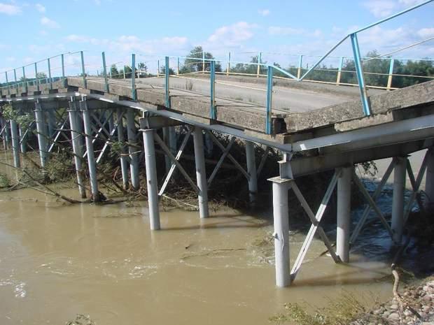 Міст у Калуському районі