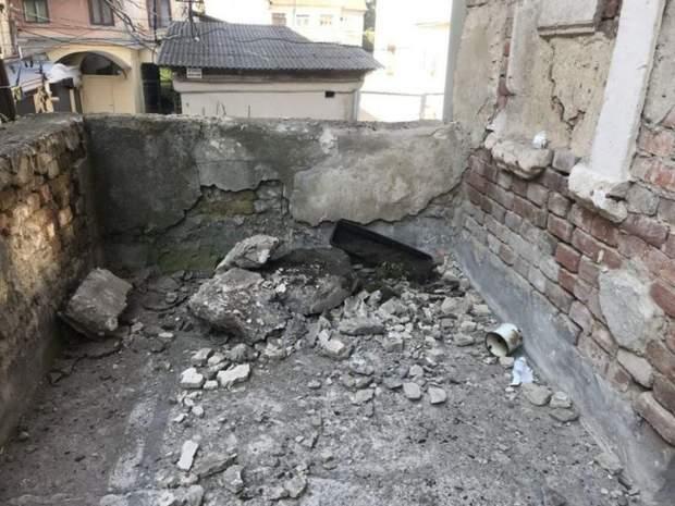 Івано-Франківськ обвал балкону