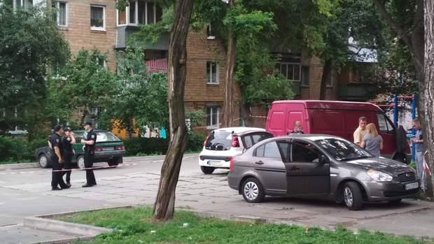 Київ вбили поліцейського