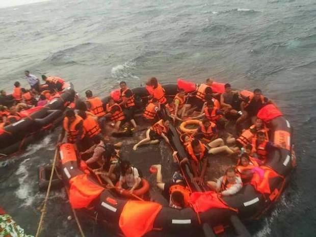 туристи, Таїланд, човен