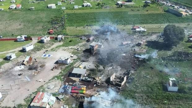 Мексика вибух феєрверків