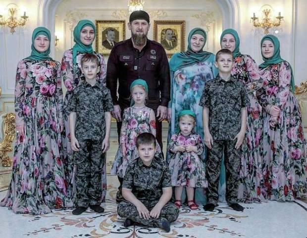 Семья Рамзана Кадырова
