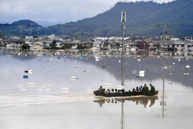Японія повені