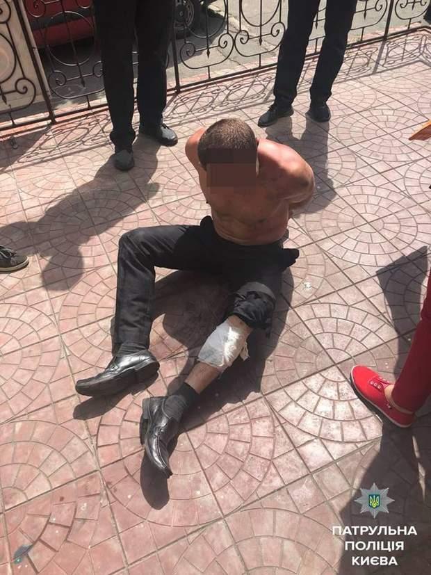 злочинець Київ поліція